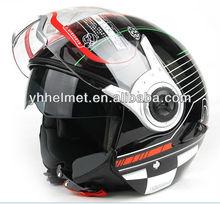 YOHE ABS ECE half face helmet 852-BLACK
