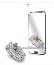 anti-scrach,anti-fingerprit mirror screen protector for xiao mi 2