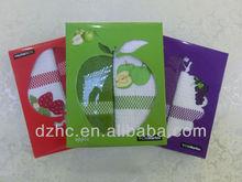 cotton tea towel with box