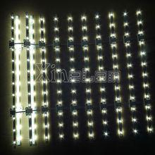 Higher Brightness 115LM/W flexible led bar,led lattice backlit for Advertisement Lightboxes