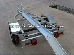 Galvanized Motorcycle travel trailer MT01