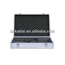Hot sale aluminum tool socket set case with foam inside