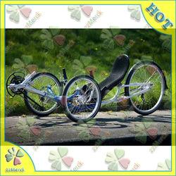 X-Speed Recumbent Bicycle/Aluminum Rim Material Folding Recumbent Bicycle