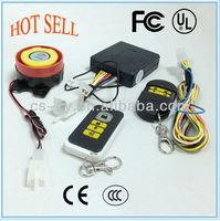 12V electronic immobilization system/bodyguard motorcycle alarm