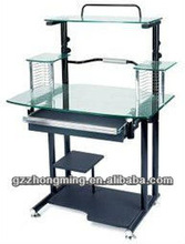 Modern Glass Computer Desk Table Home Office Furniture WY-580