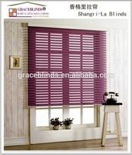 newest design style shangri-la blinds for home window modern decoration