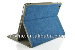 Cowboy Jeans Leather Case Smart Cover Sleep Mode Jeans Case For Ipad Mini