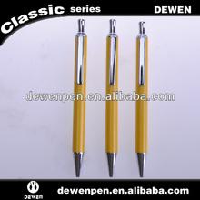 New metal push action ball pens