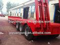 Aotong marque 3 essieux bas de camion semi - remorque exportateur usine à vendre ( 30 - 100 ton capacity )