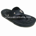 hot selling plastic beach flip flops for men