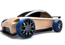 wooden automobile/mini car model/sports car