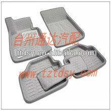Hot sale Tongda' s environmental grey car mats for BMW X1