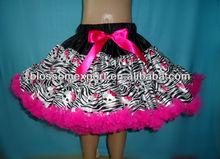 Halloween new design wholesales princess fluffy baby girls pettiskirts
