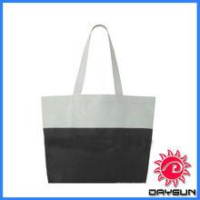 Durable portable canvas reusable shopping bag