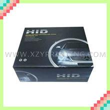 Universal customized cardboard printed kit xenon HID box