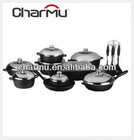 23 pcs die cast cookware set
