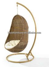 Rattan Hammock-BZ-W018/Garden rattan swing chairs/mecedora