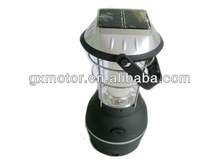 high power led camping lantern with solar panel JT-9008B