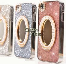 Bling Bling Mirror Diamond Phone Case For iPhone4 4S