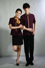 2014 newest style fashionable hotel uniform suit uniform