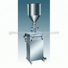 Small Manual Liquid cream paste lotion filling Machine