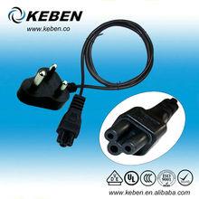 High quality 3.5mmSouth Africa AC c7 power cord