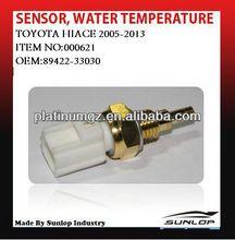 toyota hiace car spare parts new product 89422-33030 sensor,water temperature #000621 for hiace van,commuter,quantum,KDH200