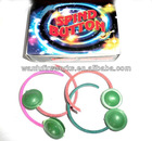 spind button spinning and flashing fireworks toys