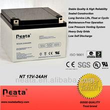 VRLA Battery 12v 24ah for Portable Lights, Power tools