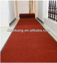 Best PVC rubber backing anti-slip exhibition carpet doormat