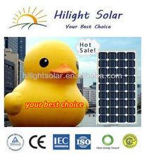 2013 High-efficiency Mono Solar Panel 150 Watt with TUV certificate