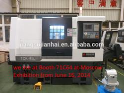 cnc slant bed lathe machine TY-32L /TY-42L /TY-42P with auto lubrication system