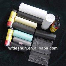 pe black garbage bag,biodegradable garbage
