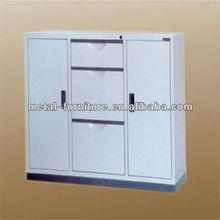 3 drawer double door filing cabinet/steel file cabinet/office furniture