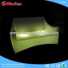 2013 hot sale LED furniture / LED Glow Two-Seat Sofa L-S42