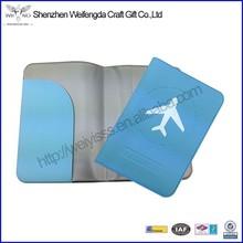 Promotion Cheap Soft Vinyl PVC Passport Holder