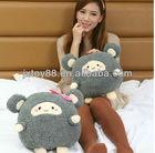 lovely jumping mice couple animal stuffed plush toy