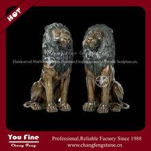 Factory direct sale garden bronze lion
