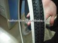 hot venda direta da fábrica por atacado preto e branco de pneus de bicicletaiso9001 aprovado