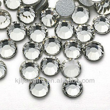 KJL-PB044 non hot fix flat back rhinestones in Bulk for Clothes Wholesale