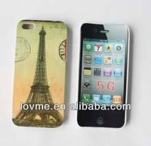 Paris Eiffel Tower PC Plastic Hard Case Cover for iPhone 5 5G apple 5