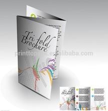 Printing Tri-fold Brochure, Custom Brochure Printing Service with good quality