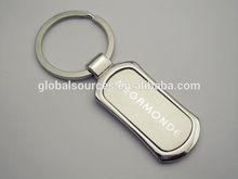 hot selling metal key ring with etching logo