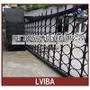 outdoor security metal gates&metal yard gate and metal main gate