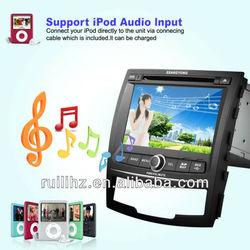7 inch Touch Screen Auto Radio Gps Car DVD 2 Din for Ssangyong Korando