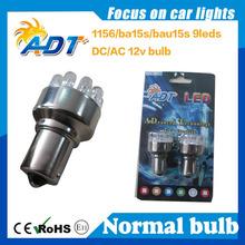 2015 Hot sell!!!1156 1157 ba15s bau15s 89# 9 led DC/AC 12V LED Flasher 89 type from china suppiler