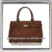 HOT! 2013 high quality leather handbag ladies