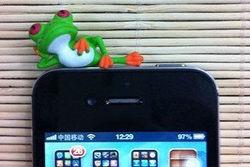 Yueya Lovely Relax Lazy Leisure Cartoon Green Frog earphone Jack Dustproof Antidust Ear Cap for iphone ipod ipad samsung