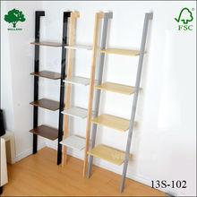 double L shape bookshelf