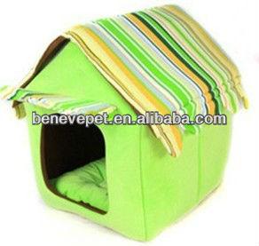 Super soft fabric pet house,dog kennel